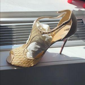 Christian Louboutin Tiny lace heel